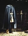 Karl XII kläder i monter - Livrustkammaren - 39165.tif