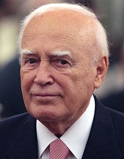 Karolos Papoulias Greek jurist and politician