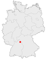 Karte bad mergentheim in deutschland.png