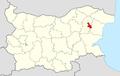 Kaspichan Municipality Within Bulgaria.png