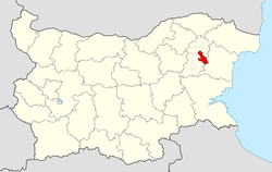 Kaspichan Municipality within Bulgaria and Shumen Province.