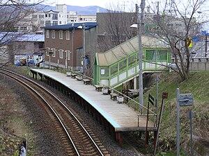 Katsuradai Station - Katsuradai Station platform