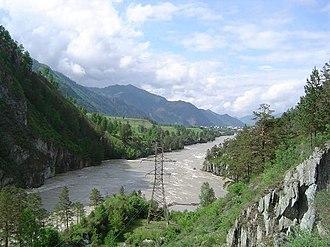 Altai Republic - Katun River in the northern Altai Republic