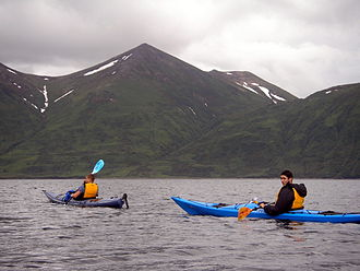 Raspberry Island (Alaska) - Image: Kayaking in Alaska P1010034