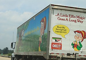 Keebler Company - Keebler Delivery Truck, US 23, Michigan
