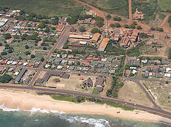 Aerial view of Kekaha