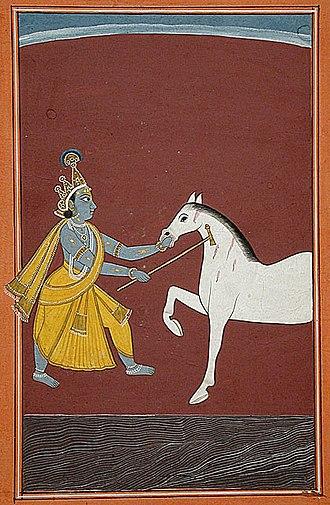 Keshi (demon) - Image: Keshi Krishna