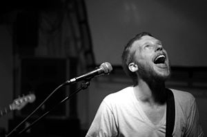 Kevin Devine playing in De Nieuwe Anita (Amste...