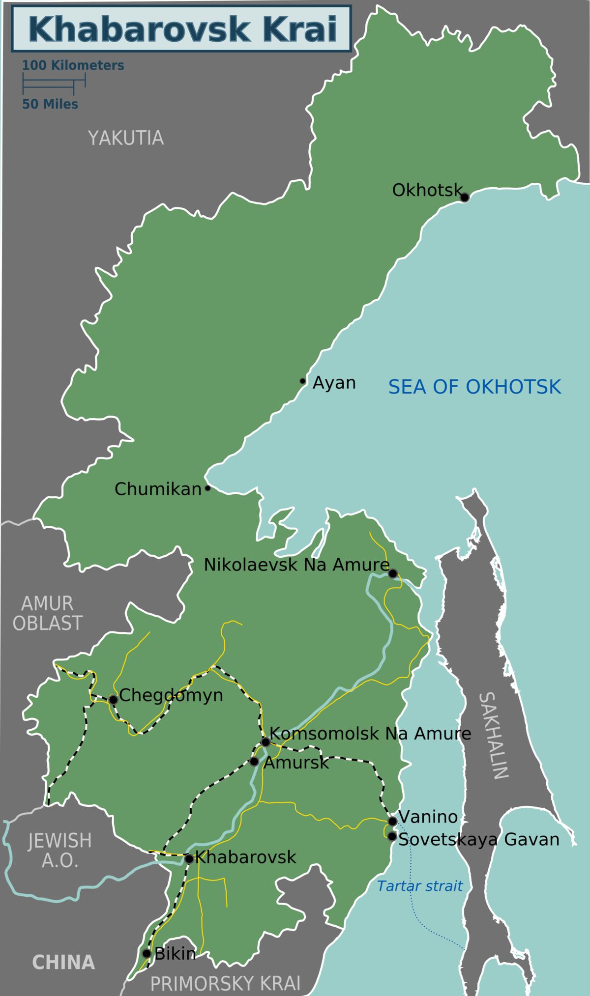 Khabarovsk Krai Travel Guide At Wikivoyage
