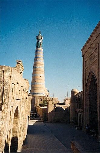 Itchan Kala - Image: Khiva Street
