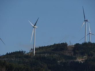 Wind power in Maine - Kibby Wind Power