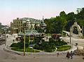 Kiev Merchants Assembly building 1890s photochrome print.jpg