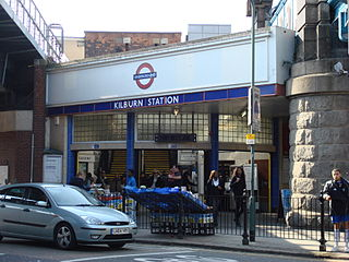 Kilburn tube station London Underground station