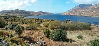 Killary Harbour - View of Killary Harbour on the way to Leenaun