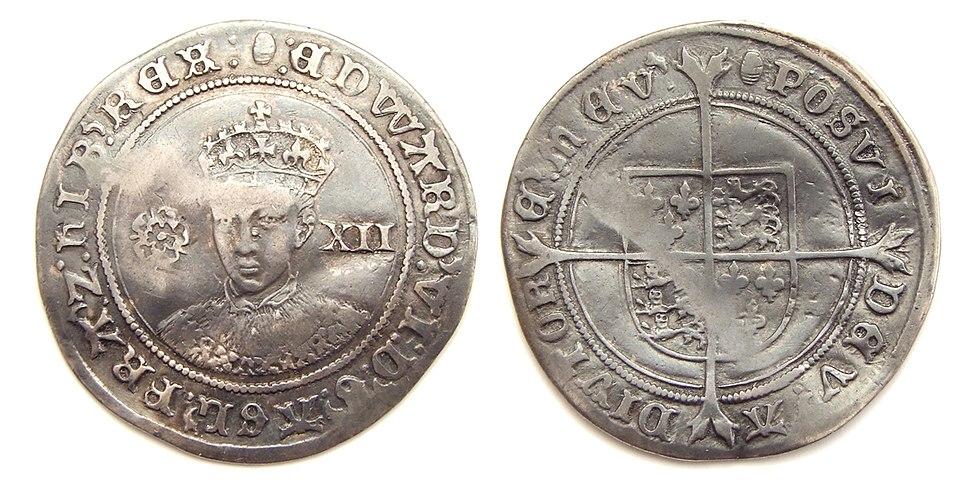 King Edward VI shilling