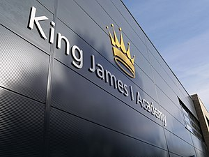 King James I Academy - Image: King James Front Entrance