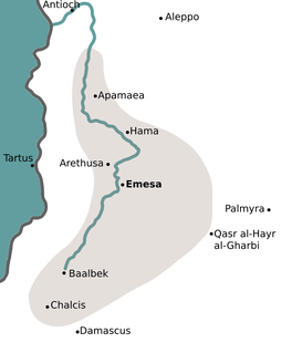 Emesene dynasty Roman client kingdom based in the Levant