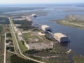 English: Aerial Photo of King's Bay Naval Base...