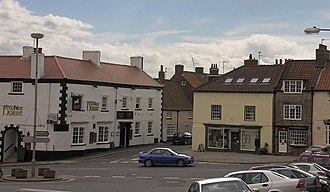 Vale of Pickering - The centre of the market town of Kirkbymoorside.