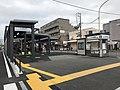 Kitano Hakubai cho station overview from south east 20200506.jpg