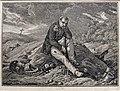 Klagender Grenadier, nach H. Vernet, Kupferstich vor 1825, D1859.jpg