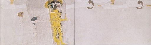 Klimt - Bethovenfries - linke Seitenwand - Ausschnitt2