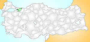 Kocaeli Turkey Provinces locator.jpg