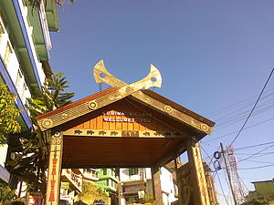 Kohima - Image: Kohima village