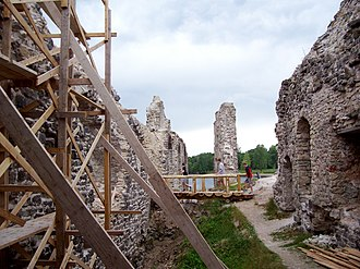 Koknese Castle - Image: Koknese 1