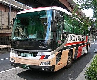 Kōnan Bus Company - Image: Konanbus 0508