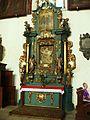 Konkatedra w Chełmży-barokowy ołtarz MB Bolesnej(Chełmińskiej).JPG