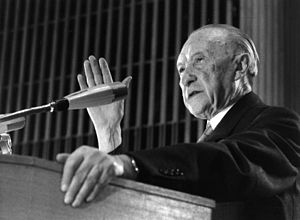 Adenauer, Konrad 14. CDU-Bundesparteitag, 21.0...