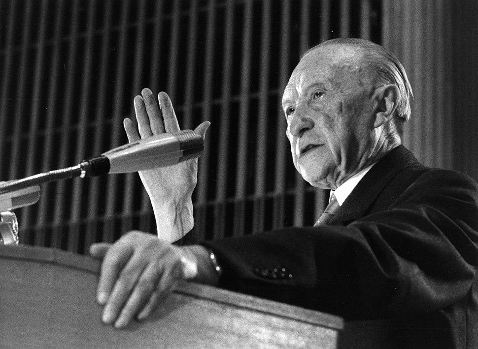 Konrad Adenauer - 14. CDU-Bundesparteitag-kasf0094