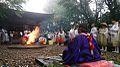 Kontaiji Temple Goma Houyou 20130901.jpg