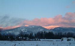 Sunrise at Kootenai