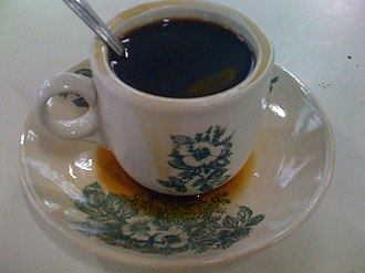 Kopi tiam - Traditional Kopi O commonly served in Malaysia and Singapore