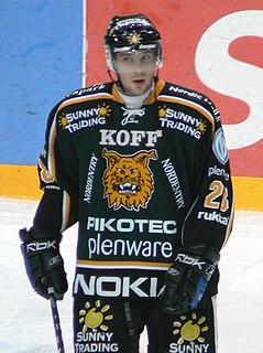 Jakub Koreis Czech ice hockey player