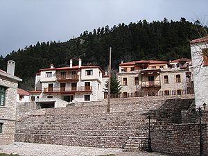Το χωριό Κορυσχάδες Ευρυτανίας