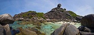 Similan Islands - Panorama of Ko Similan