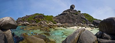 Panorama de Koh Similan