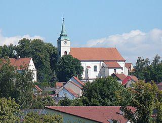 Jedovnice Market town in South Moravian, Czech Republic