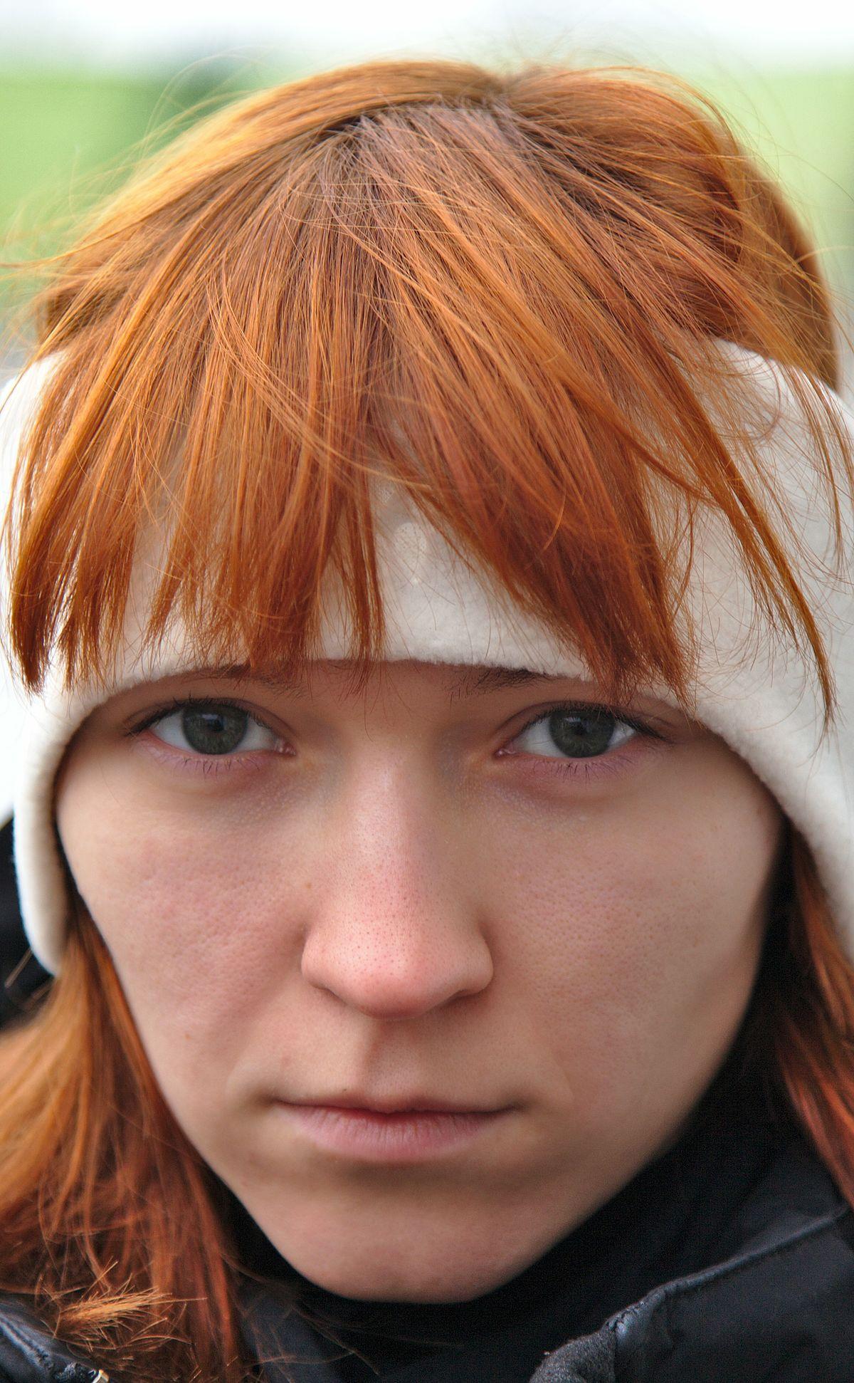 Colore rosso capelli naturale