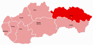 Prešov Region - Wikidata