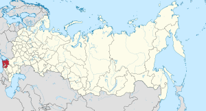 Krasnodar in Russia.svg