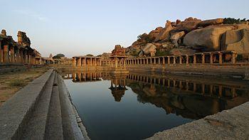 Krishna Temple Pushkarani,Karnataka.jpg
