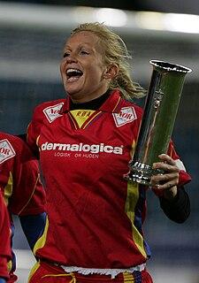 Kristine Edner Norwegian association football player