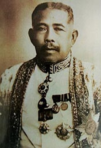Kingdom of Setul Mambang Segara - Tunku Baharuddin bin Ku Meh, the last King of Setul, 1902.