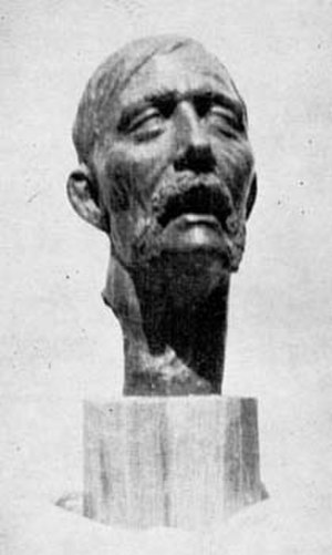 Ivan Kuchuhura-Kucherenko - Death mask of I. Kucherenko done by Fedir Yemetz.