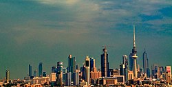 The Skyline of Kuwait City