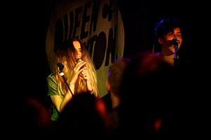 Kyla La Grange - Kyla La Grange (left) performing live